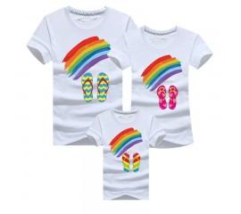 Family Rainbow Tees