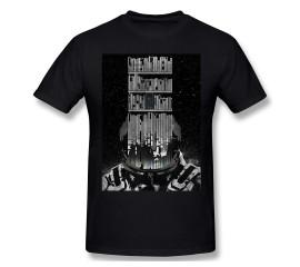 Men Interstellar Cooper Sci-Fi Adventure Movie T-Shirts Funny Tops INTERSTELLAR Poster Premium Pure Cotton Tees Harajuku TShirt