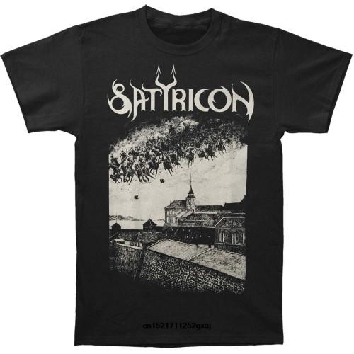 Men T shirt Fashion Satyricon Cotton funny t-shirt novelty tshirt women