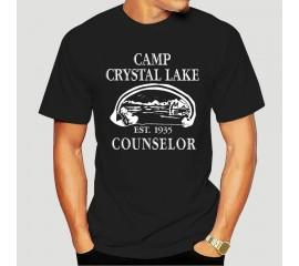Mens Camp Crystal Lake T shirt Funny ShirtsVintage Horror Novelty Tees(1) 8813A