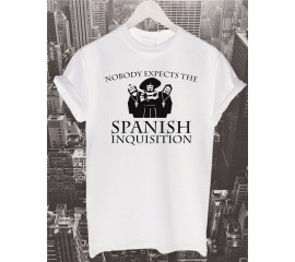 Nobody Expects The Spanish Inquisition T Shirt Top Monty Python  Flying Circus Gift Funny Tee Shirt