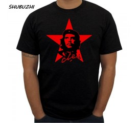 Original Che Guevara T Shirt Men Brand Famous Short Sleeved T-Shirt Red Star Printed Fitness Cotton Swag Tee Shirts