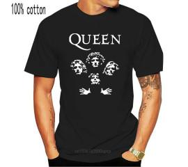 Rock Band Queen T-Shirt Unisex Music Streetwear Pop Rock Band Queen T-Shirt Top Quality Tee Shirt