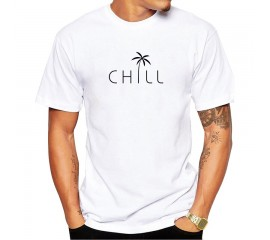 Short Sleeve Tshirts Funny Chill Tee TEEHUB Newest Hipster Reflect Men T-Shirt Fashion Letter Perspective Printed t shirts